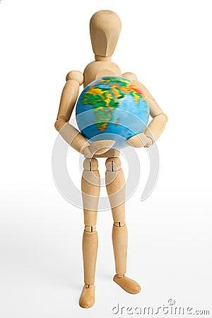 Figure,Earth,one