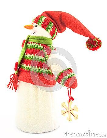 Figure of a snowman