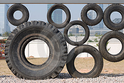 Figure of some tyres
