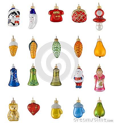 Free Figured Christmas Toys Stock Photo - 6423800