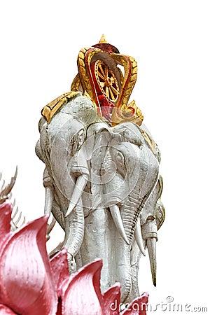 The figurehed elephant.