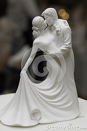Free Figures On A Wedding Cake Royalty Free Stock Photos - 13609988