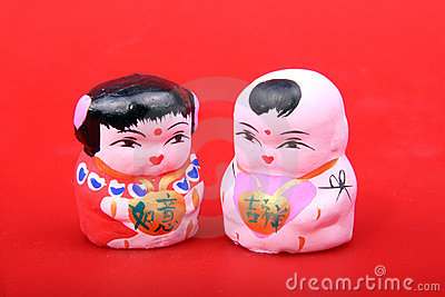 Figurine da argila de Beijing
