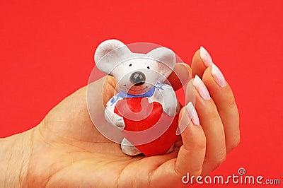 Figurine de souris