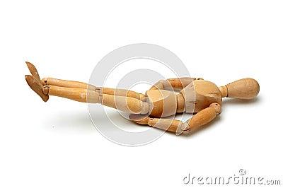 Figurine - Leg raise