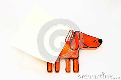 Figurine toy dog