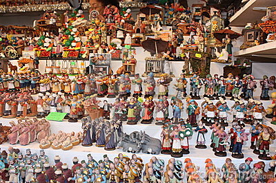 Figurines for the Italian Presepe