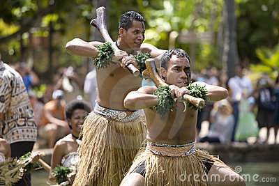 Fijian Dancers 1587 Editorial Image