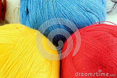 Fil pour le tricotage