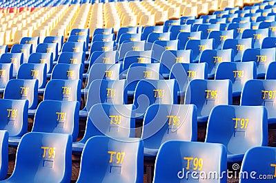 Fila de sillas