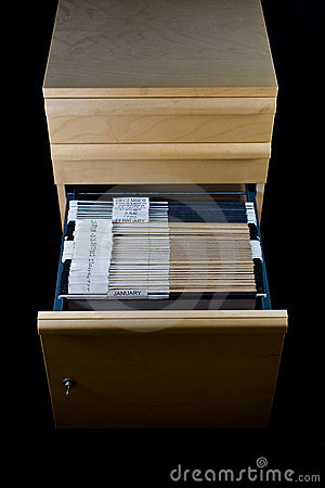 File Cabinet and 43 Folders
