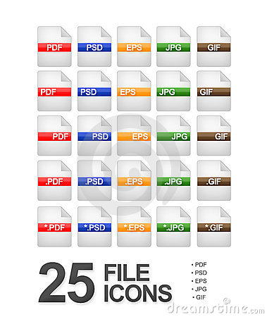 File and Document Icons