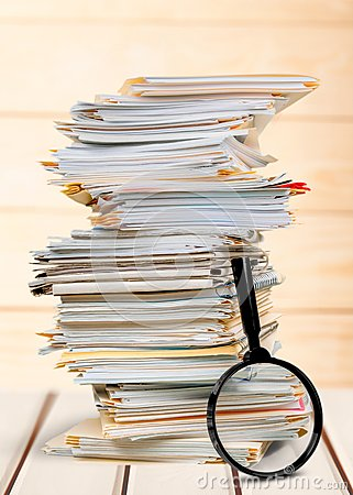 Free File Documents Royalty Free Stock Image - 59860366