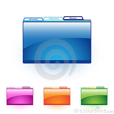 Free File Folder Stock Photo - 13105850