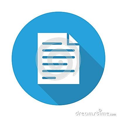 File icon Vector Illustration