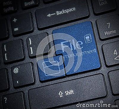 Free File Management Stock Image - 56068351