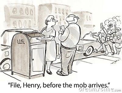 File mob