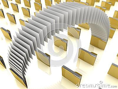 File share Stock Photo