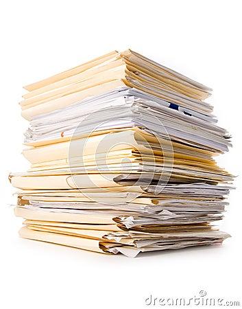 Free File Stack Stock Image - 2317271