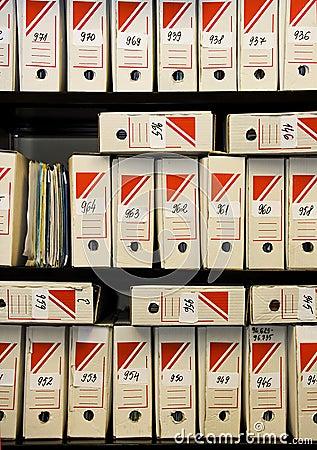 Free File Storage Royalty Free Stock Image - 527016