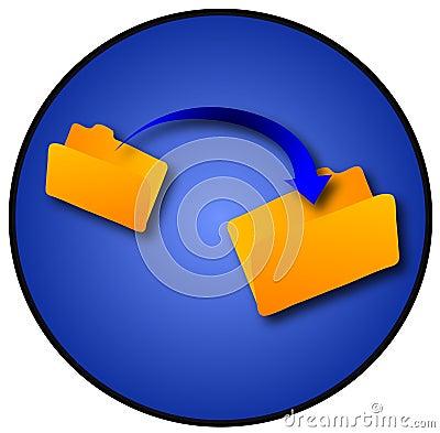 Free File Transfer Stock Image - 1455901