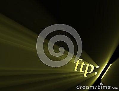 File transfer protocol ftp light halo