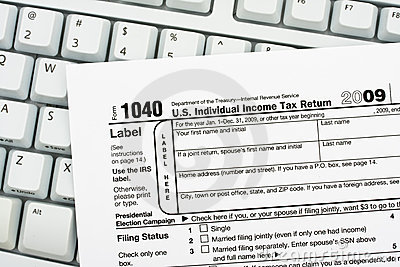 File Your Taxes Returns Online Royalty Free Stock Photo - Image: 13059865