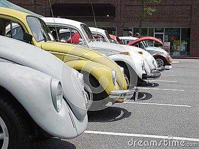Fileira de Volkswagen