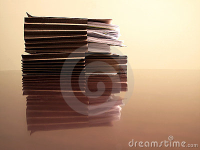 Files on Desk