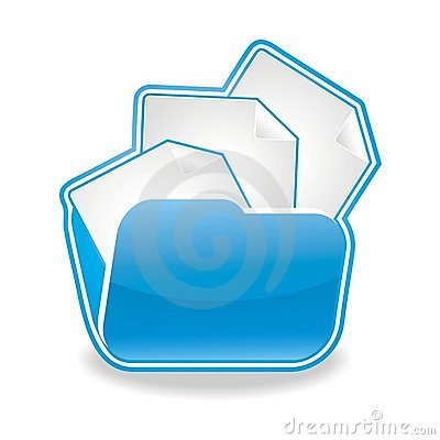 Files and Documents Folder Icon