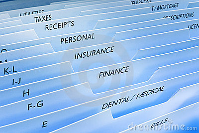 Files Insurance Personal Data Information