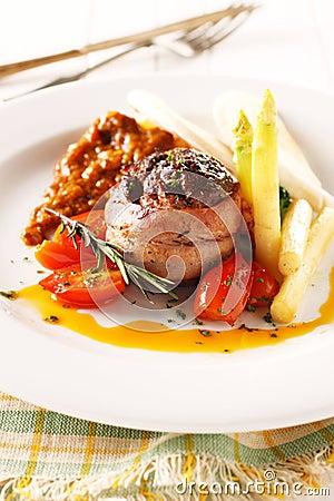 Filete de carne de vaca fotograf a de archivo imagen - Filetes de carne en salsa ...