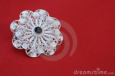 Filigree Brooch