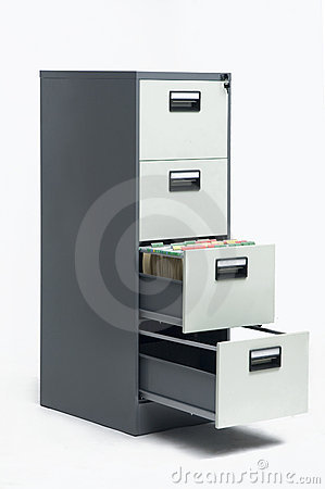 Free Filing Cabinet Royalty Free Stock Image - 2605236