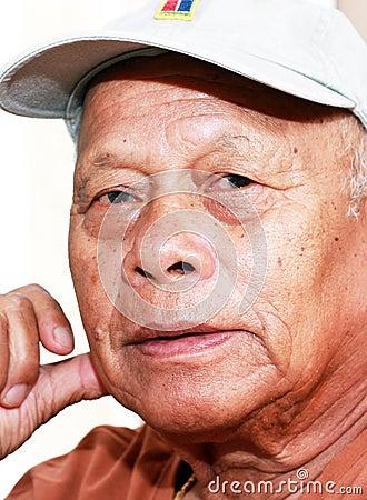 Filipino Asian Senior