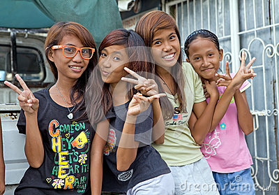 Filipino Girls Editorial Photography