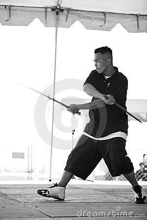 Filipino Martial Arts Demonstration 2 Editorial Image