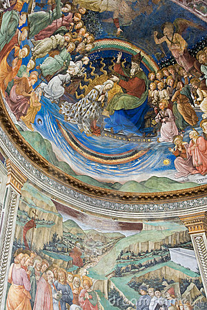 Free Filippo Lippi Painting In Spoleto Cathedral Royalty Free Stock Photo - 15341935