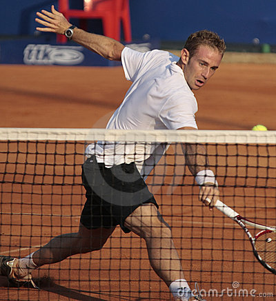 Filippo Volandri: ATP Challenger KOS 2008 Editorial Stock Photo