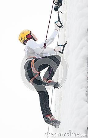 Filippova Maryam climbing Editorial Photography