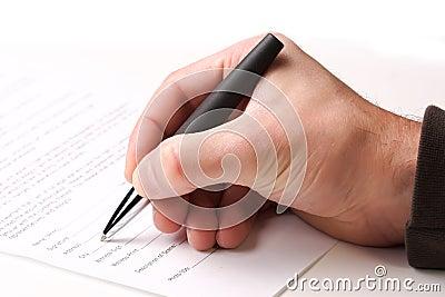 Fill a form
