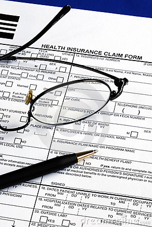 Fill the health insurance claim form