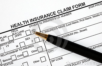 Fill in the medical claim form