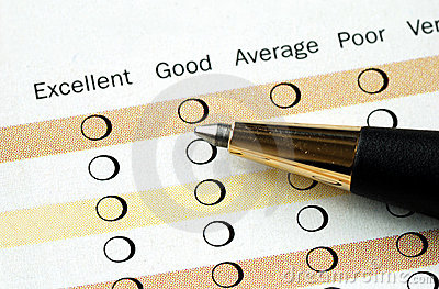 Fill in the satisfaction survey