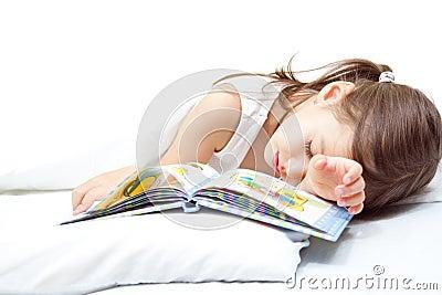 Fille de sommeil