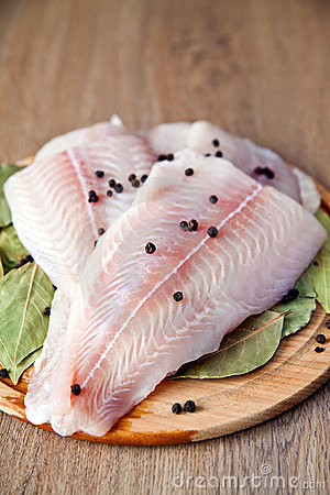 Free Fillet Of Pangasius Stock Image - 18493631