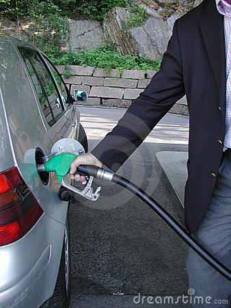 Filling Gas Stock Images - Image: 5374
