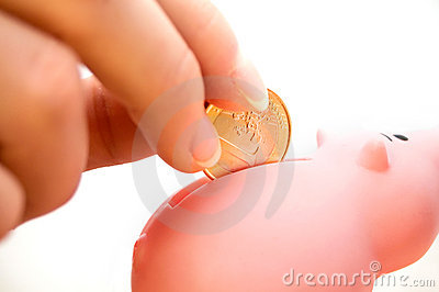 Filling a Piggybank