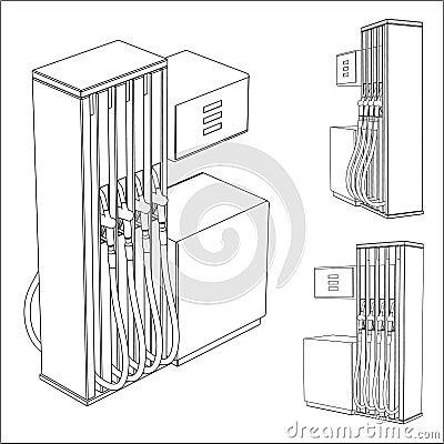 bp gas station pump exxon gas pump wiring diagram
