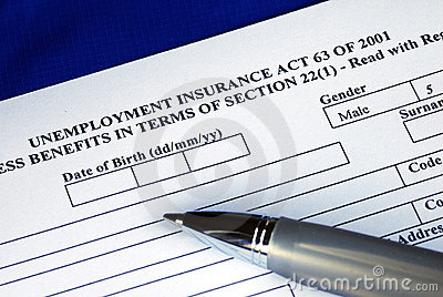 Filling the unemployment insurance application